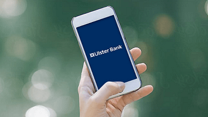 Ulster Bank on mobile